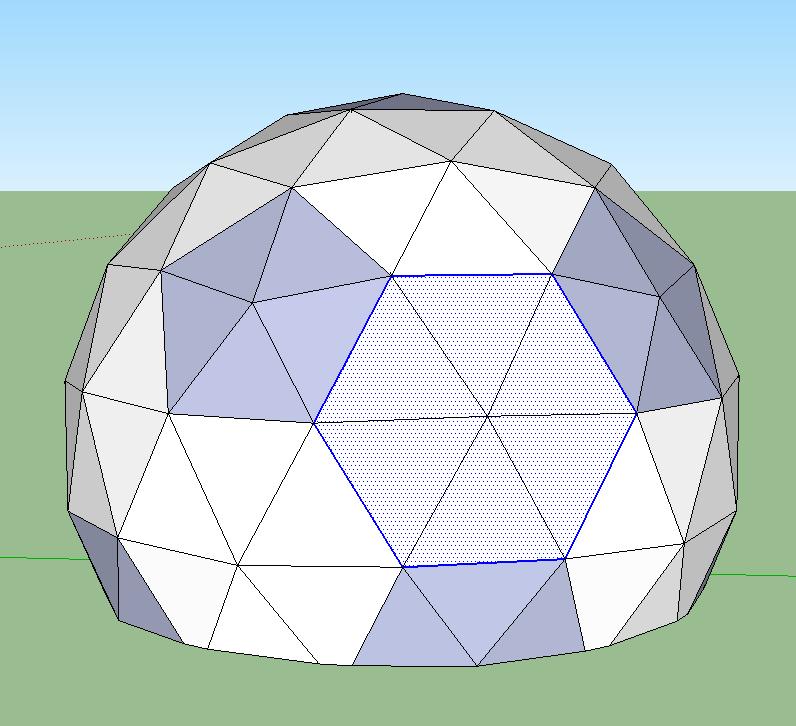 Geodesic Dome: Frameless Geodesic Dome